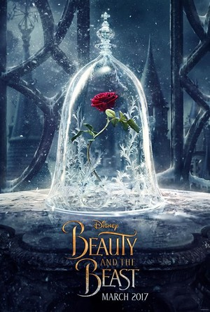 Teaser poster of 'Beauty and the Beast'