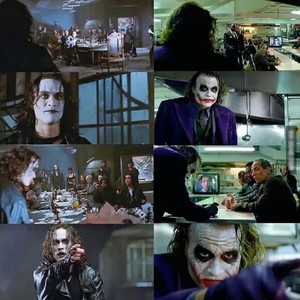 The Joker and the Crow: Similarities