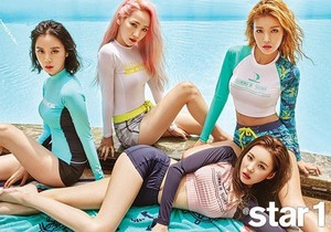 Wonder Girls for '@star1'