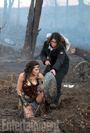 Wonder Woman Movie - BTS