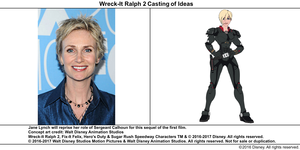 Wreck-It Ralph 2 Casting of Ideas: Jane Lynch