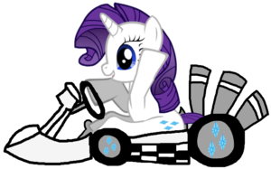 rarity in her kart によって lunafan88 d9vfkld