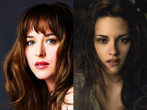 Anastasia Steele and Bella cygne