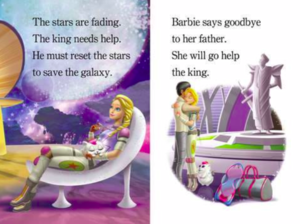 Barbie Star Light Adventure story
