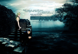 Buffy/Angel Wallpaper - Night Came On