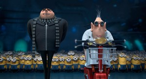 Gru and Dr. Nefario