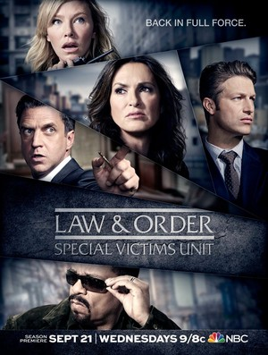 Law and Order SVU: Season 18 Poster - Back in Full Force