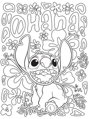Lilo and Stitch Coloring Page