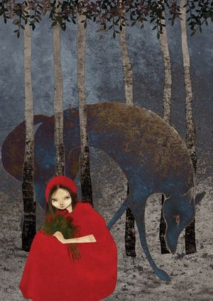 Little Red Riding capuche, hotte
