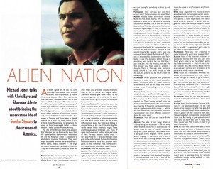 Smoke Signals interview (FilmMaker magazine - Winter 1998)