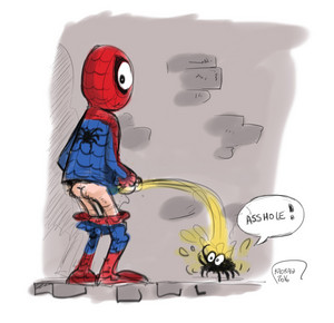 Spiderman fan art sketch