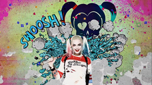 Suicide Squad - Advance Ticket Promo - Harley Quinn