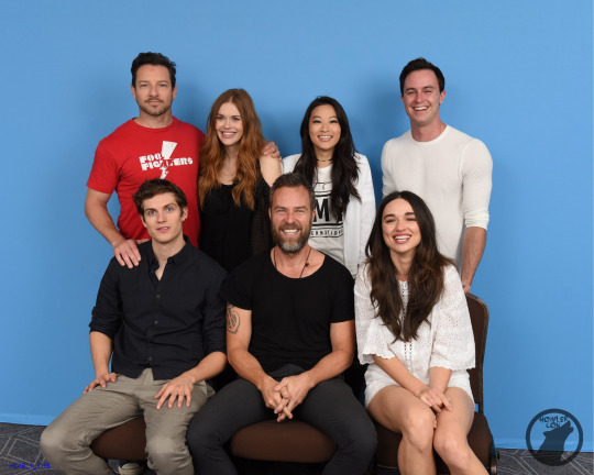 With Teen Wolf Cast