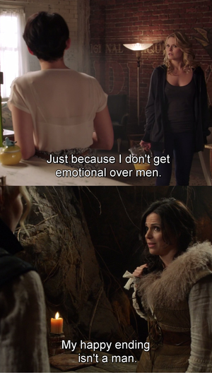not gay at all (Swan Queen style)