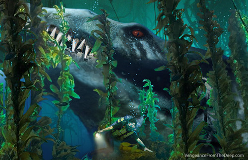 kelp forest wallpaper dinosaurs images pliosaur kelp forest hd wallpaper and 239