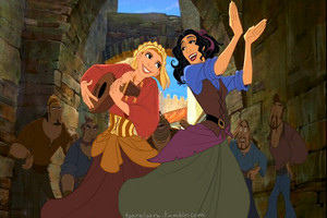 Genderbent Miguel and Tulio