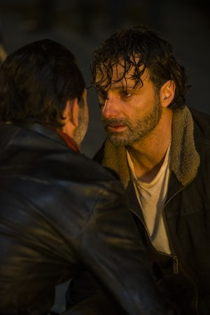 7x01 ~ The Day Will Come When You Won't Be ~ Rick and Negan