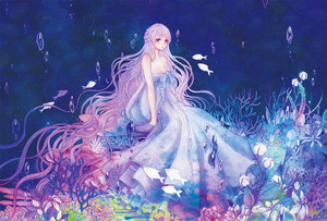 Beautiful Anime Mermaid