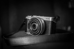 Black and white camera