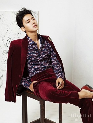 Insoo for 'My Wedding' magazine
