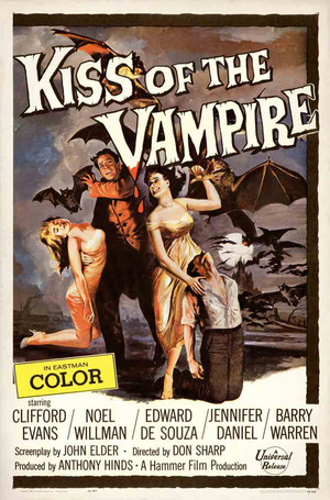 吻乐队(Kiss) of the Vampire poster