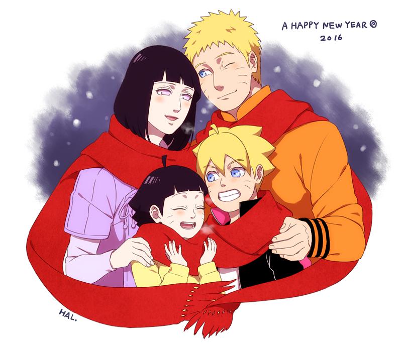 Naruto And Hinata Family Naruto Shippuuden Fan Art 39927082 Fanpop