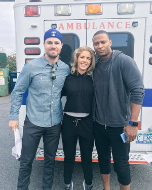 OTA on set of Episode 100 :)