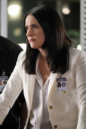 Paget Brewster as Emily Prentiss- Criminal Minds Season 12