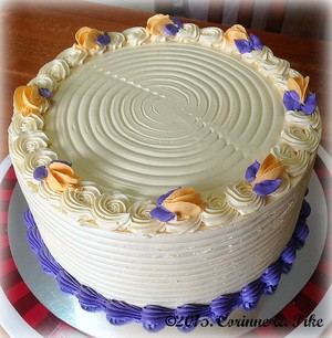 Queso Ube cake