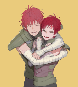Sasori and Gaara