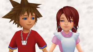 Sky and Sea Connected SoKai Day Sora x Kairi