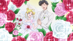 Sm Crystal - Usagi and Mamoru