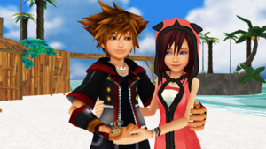 Sora x Kairi KH3 Destiny Islands Finally Become a Couple ReMix.