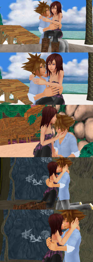 The Last Sora x Kairi Sweet Feelings Destiny.