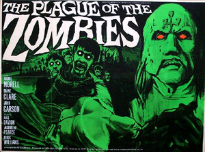 The Plague of the Zombies poster