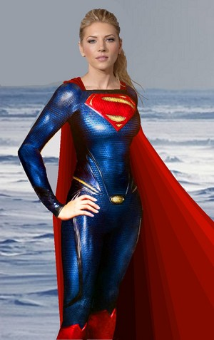 Winnick as Supergirl