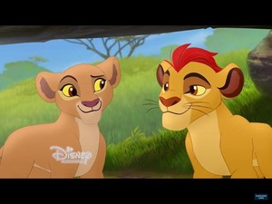 kion and kiara there are two cubs Disney channel proof