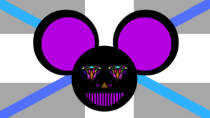 mickey electro achtergrond