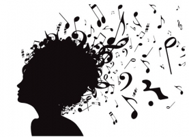 music note and people vector 550935