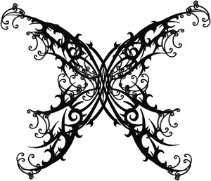 wonderful butterflies tattoo designs 4