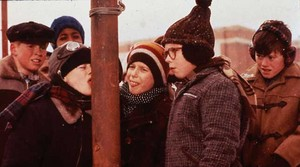 A natal Story - Flick, Schwartz and Ralphie