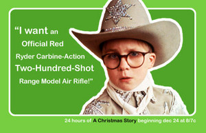 A Christmas Story Quote - Ralphie