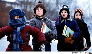 A Christmas Story - Randy, Ralphie, Flick and Schwarta