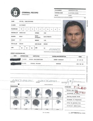 A.R.G.U.S. Files - Slipknot's Criminal Record