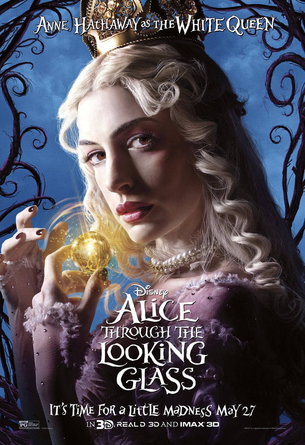 Alice Through The Looking Glass Poster Movie Trailers Photo