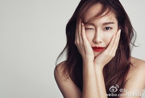 Bazaar Korea December issue with Jessica Jung