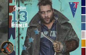 Early Captain Boomerang Concept Art