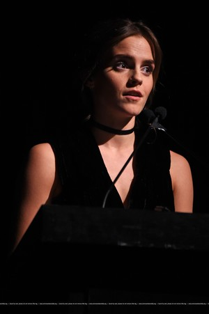 Emma Watson attends at the MoMA Film Benefit presented by CHANEL, A Tribute To Tom Hanks