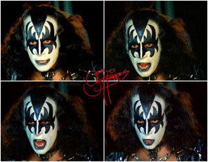 Gene ~Valencia, California…May 11-15, 1978 (KISS Meets The Phantom of the Park)