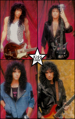 KISS 1989 (Hot in the Shade photo session)